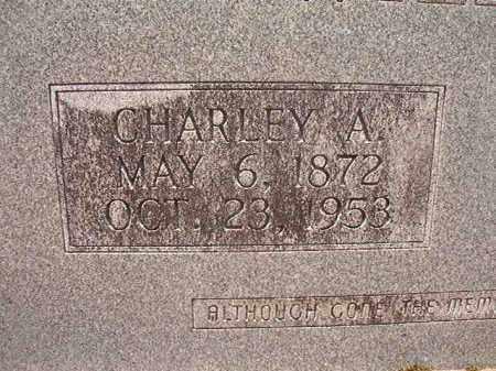 WILLIAMS, CHARLEY A - Calhoun County, Arkansas | CHARLEY A WILLIAMS - Arkansas Gravestone Photos
