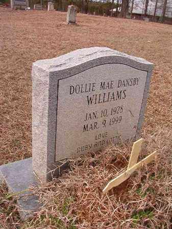 DANSBY WILLIAMS, DOLLIE MAE - Calhoun County, Arkansas | DOLLIE MAE DANSBY WILLIAMS - Arkansas Gravestone Photos