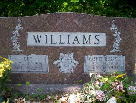RUSSELL WILLIAMS, VASHTI - Calhoun County, Arkansas | VASHTI RUSSELL WILLIAMS - Arkansas Gravestone Photos
