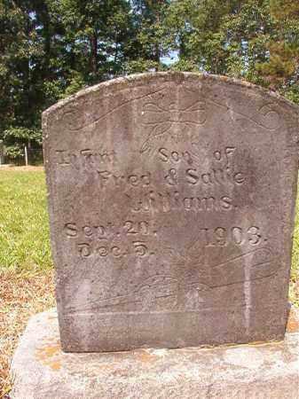 WILLIAMS, INFANT SON - Calhoun County, Arkansas | INFANT SON WILLIAMS - Arkansas Gravestone Photos