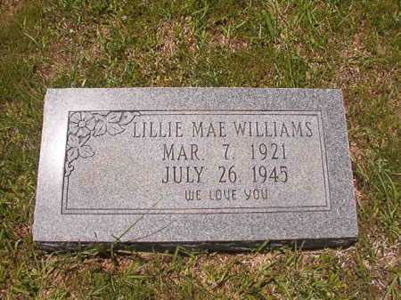 WILLIAMS, LILLIE MAE - Calhoun County, Arkansas | LILLIE MAE WILLIAMS - Arkansas Gravestone Photos