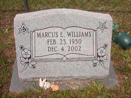 WILLIAMS, MARCUS E - Calhoun County, Arkansas | MARCUS E WILLIAMS - Arkansas Gravestone Photos