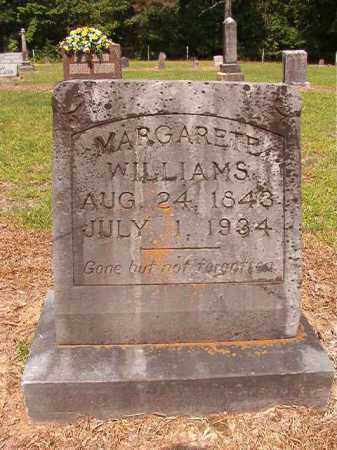 WILLIAMS, LYDIA MARGARETE - Calhoun County, Arkansas | LYDIA MARGARETE WILLIAMS - Arkansas Gravestone Photos