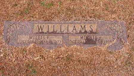 WILLIAMS, MINNIE H - Calhoun County, Arkansas | MINNIE H WILLIAMS - Arkansas Gravestone Photos