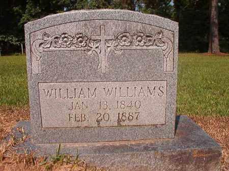 WILLIAMS, WILLIAM - Calhoun County, Arkansas | WILLIAM WILLIAMS - Arkansas Gravestone Photos