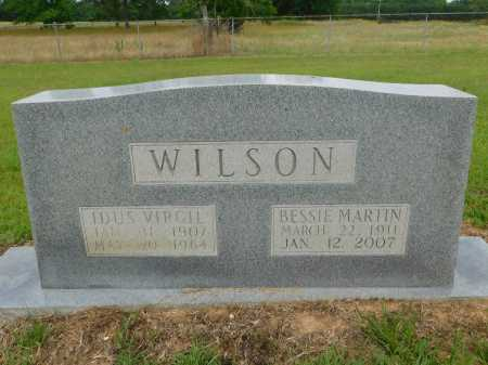 MARTIN WILSON, BESSIE - Calhoun County, Arkansas | BESSIE MARTIN WILSON - Arkansas Gravestone Photos