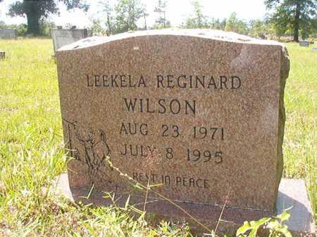 WILSON, LEEKELA REGINARD - Calhoun County, Arkansas | LEEKELA REGINARD WILSON - Arkansas Gravestone Photos
