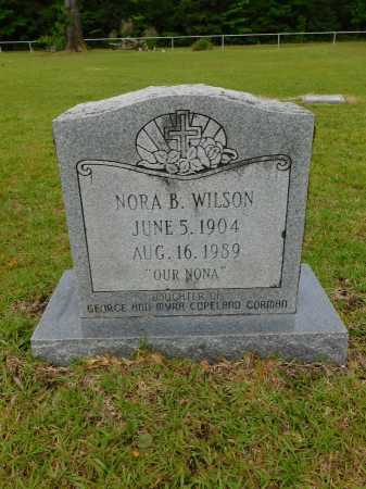 GORMAN WILSON, NORA B - Calhoun County, Arkansas | NORA B GORMAN WILSON - Arkansas Gravestone Photos