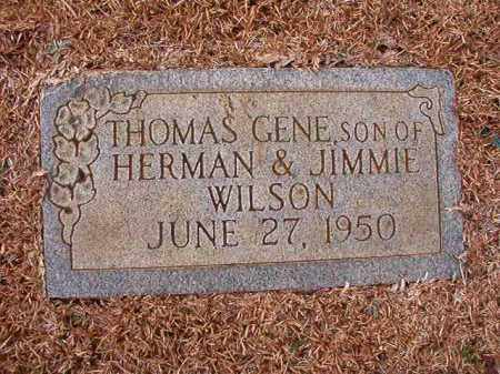 WILSON, THOMAS GENE - Calhoun County, Arkansas | THOMAS GENE WILSON - Arkansas Gravestone Photos