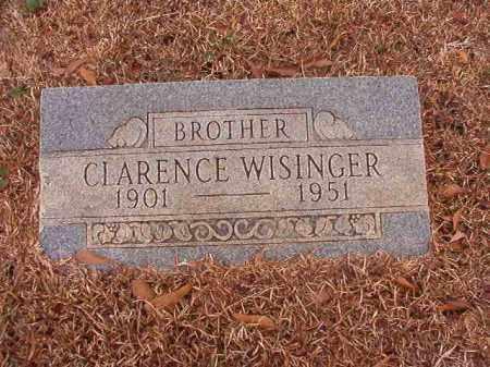WISINGER, CLARENCE - Calhoun County, Arkansas | CLARENCE WISINGER - Arkansas Gravestone Photos