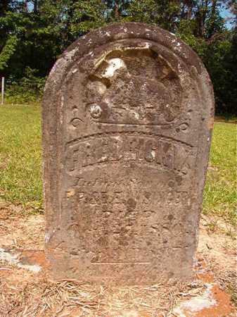 WISINGER, FREDRICK W - Calhoun County, Arkansas | FREDRICK W WISINGER - Arkansas Gravestone Photos