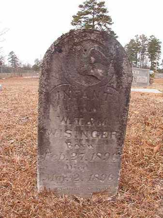 WISINGER, INFANT DAUGHTER - Calhoun County, Arkansas | INFANT DAUGHTER WISINGER - Arkansas Gravestone Photos