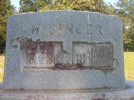 WISINGER, LEA - Calhoun County, Arkansas | LEA WISINGER - Arkansas Gravestone Photos