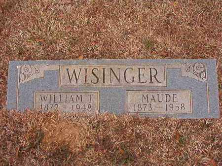 WISINGER, WILLIAM T - Calhoun County, Arkansas | WILLIAM T WISINGER - Arkansas Gravestone Photos