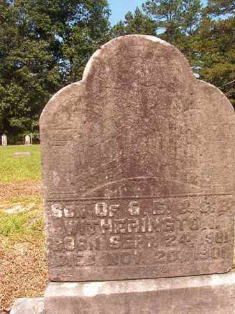 WITHERINGTON, INFANT SON - Calhoun County, Arkansas | INFANT SON WITHERINGTON - Arkansas Gravestone Photos