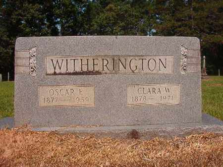 WITHERINGTON, CLARA - Calhoun County, Arkansas | CLARA WITHERINGTON - Arkansas Gravestone Photos