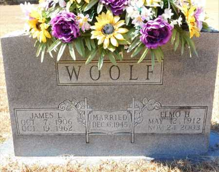 WOOLF, ELMO H - Calhoun County, Arkansas | ELMO H WOOLF - Arkansas Gravestone Photos