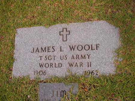 WOOLF (VETERAN WWII), JAMES L - Calhoun County, Arkansas | JAMES L WOOLF (VETERAN WWII) - Arkansas Gravestone Photos