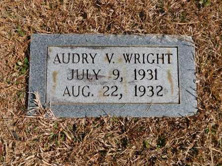 WRIGHT, AUDRY V - Calhoun County, Arkansas | AUDRY V WRIGHT - Arkansas Gravestone Photos