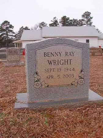 WRIGHT, BENNY RAY - Calhoun County, Arkansas | BENNY RAY WRIGHT - Arkansas Gravestone Photos