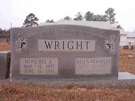 WRIGHT, HERSCHEL J - Calhoun County, Arkansas | HERSCHEL J WRIGHT - Arkansas Gravestone Photos