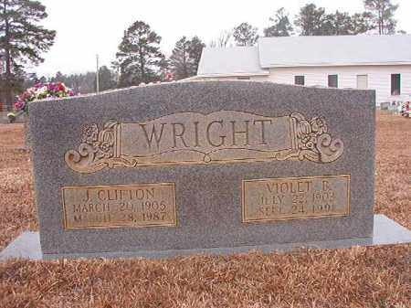 WRIGHT, J CLIFTON - Calhoun County, Arkansas | J CLIFTON WRIGHT - Arkansas Gravestone Photos