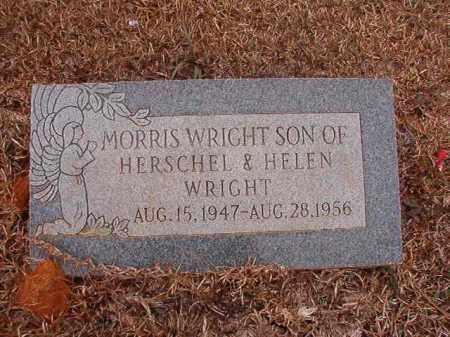 WRIGHT, MORRIS - Calhoun County, Arkansas | MORRIS WRIGHT - Arkansas Gravestone Photos