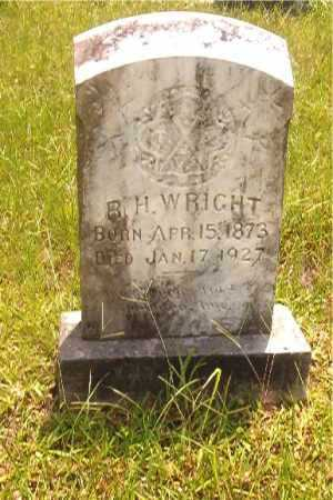 WRIGHT, R H - Calhoun County, Arkansas | R H WRIGHT - Arkansas Gravestone Photos