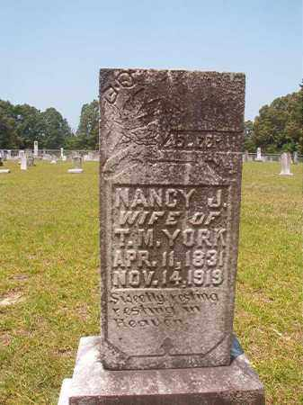 YORK, NANCY J - Calhoun County, Arkansas | NANCY J YORK - Arkansas Gravestone Photos