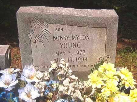 YOUNG, BOBBY MYTON - Calhoun County, Arkansas | BOBBY MYTON YOUNG - Arkansas Gravestone Photos