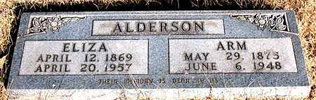 ALDERSON, ARM - Carroll County, Arkansas | ARM ALDERSON - Arkansas Gravestone Photos