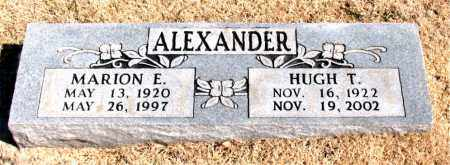 ALEXANDER, HUGH T. - Carroll County, Arkansas | HUGH T. ALEXANDER - Arkansas Gravestone Photos