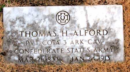 ALFORD (VETERAN CSA), THOMAS  H. - Carroll County, Arkansas | THOMAS  H. ALFORD (VETERAN CSA) - Arkansas Gravestone Photos