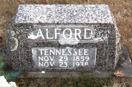 ALFORD, TENNESSEE - Carroll County, Arkansas | TENNESSEE ALFORD - Arkansas Gravestone Photos