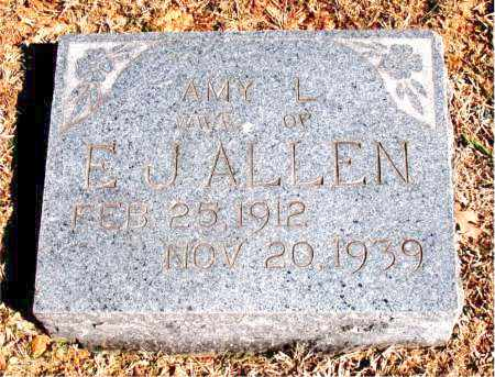 ALLEN, AMY L. - Carroll County, Arkansas | AMY L. ALLEN - Arkansas Gravestone Photos