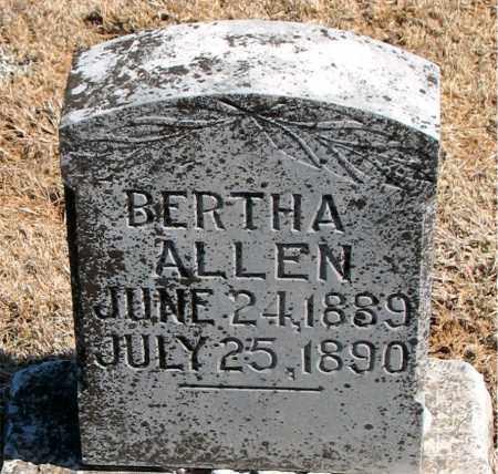 ALLEN, BERTHA - Carroll County, Arkansas | BERTHA ALLEN - Arkansas Gravestone Photos