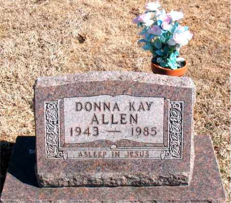ALLEN, DONNA  KAY - Carroll County, Arkansas | DONNA  KAY ALLEN - Arkansas Gravestone Photos
