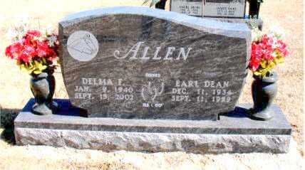 ALLEN, EARL  DEAN - Carroll County, Arkansas | EARL  DEAN ALLEN - Arkansas Gravestone Photos