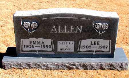 ALLEN, LEE - Carroll County, Arkansas | LEE ALLEN - Arkansas Gravestone Photos