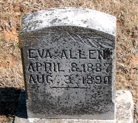 ALLEN, EVA - Carroll County, Arkansas | EVA ALLEN - Arkansas Gravestone Photos
