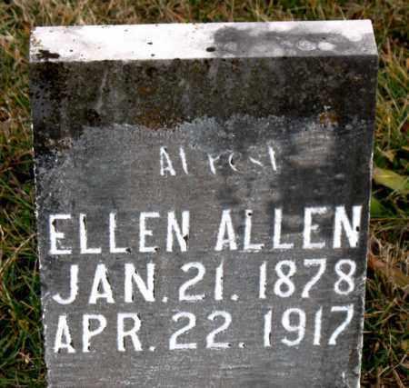 ALLEN, ELLEN - Carroll County, Arkansas | ELLEN ALLEN - Arkansas Gravestone Photos