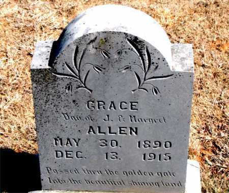 ALLEN, GRACE - Carroll County, Arkansas | GRACE ALLEN - Arkansas Gravestone Photos