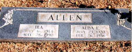 ALLEN, IRA - Carroll County, Arkansas | IRA ALLEN - Arkansas Gravestone Photos