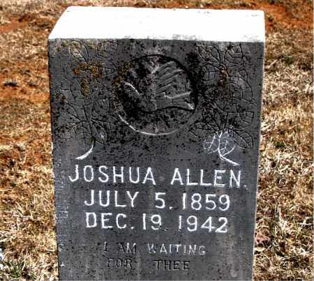 ALLEN, JOSHUA - Carroll County, Arkansas | JOSHUA ALLEN - Arkansas Gravestone Photos