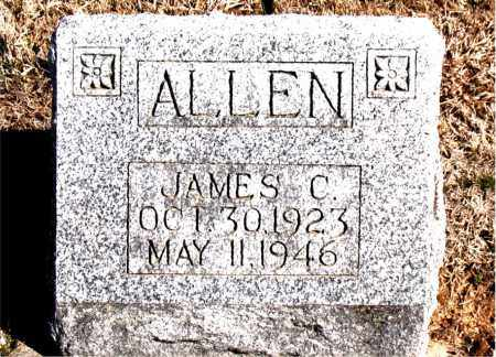 ALLEN, JAMES C. - Carroll County, Arkansas | JAMES C. ALLEN - Arkansas Gravestone Photos