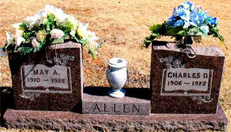 ALLEN, MAY  A. - Carroll County, Arkansas | MAY  A. ALLEN - Arkansas Gravestone Photos