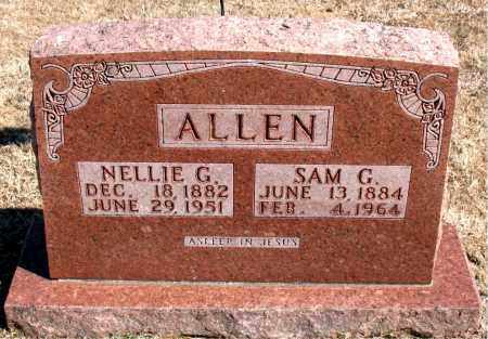 ALLEN, NELLIE G. - Carroll County, Arkansas | NELLIE G. ALLEN - Arkansas Gravestone Photos