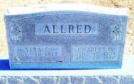 ALLRED, CHARLES D. - Carroll County, Arkansas | CHARLES D. ALLRED - Arkansas Gravestone Photos