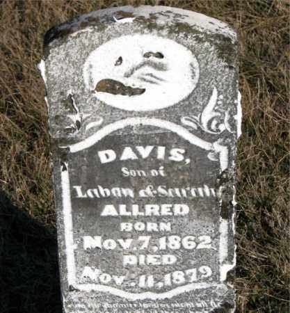 ALLRED, DAVIS - Carroll County, Arkansas | DAVIS ALLRED - Arkansas Gravestone Photos