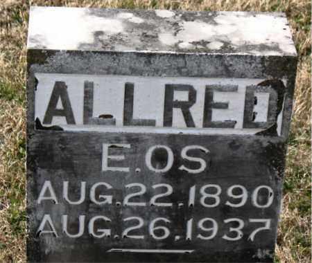 ALLRED, EOS - Carroll County, Arkansas | EOS ALLRED - Arkansas Gravestone Photos